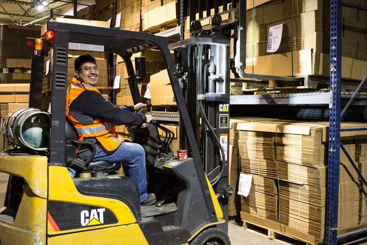 warehousing for custom packaging