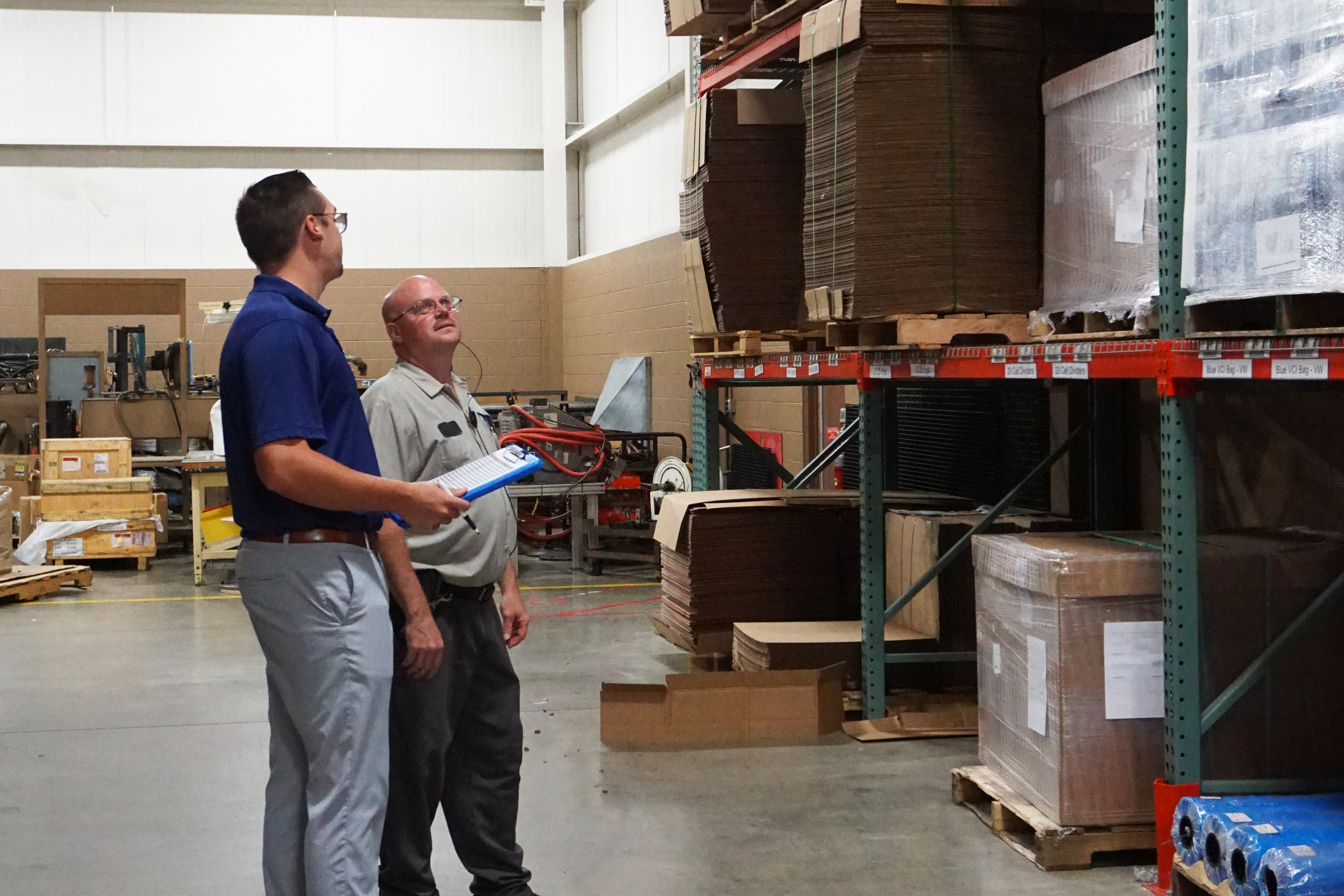 inventory management in the plant